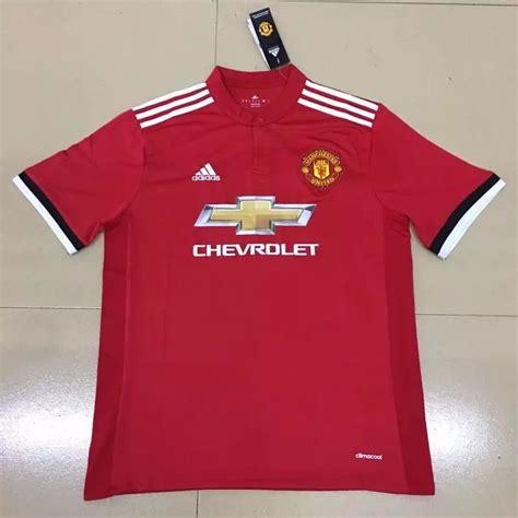 Jersey Manchester United Mu Home Musim 2017 2018 jersey home manchester united 2017 2018 prelo tips