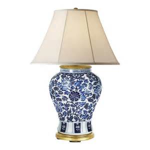 Blue And White Chinese Vases Antique Marlena Small Lamp In Blue And White Table Lamps