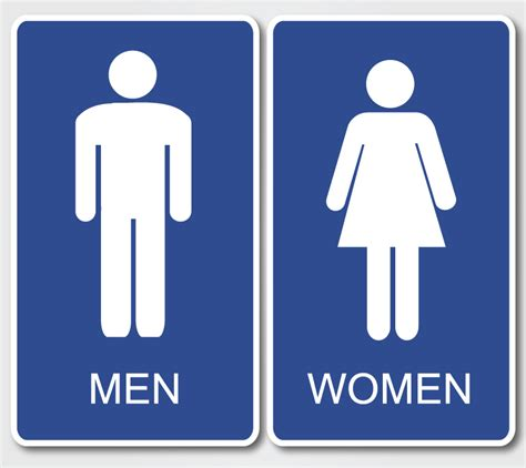 bathroom man and woman single clueless women go to the bathroom together men