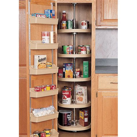lazy susan organizer for kitchen cabinets rev a shelf quot traditional quot kitchen pantry cabinet lazy