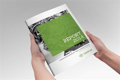 Free Report Templates Indesign Annual Report Clean Indesign Brochure On Behance
