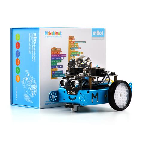 mbot for makers conceive construct and code your own robots at home or in the classroom books makeblock mbot v1 1 blue 2 4g version best sellers