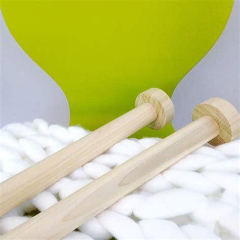 Handmade Wooden Knitting Needles - handcrafted handmade wooden knitting needles by wool