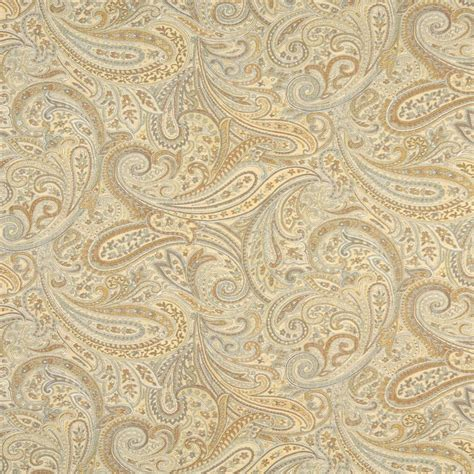 wool upholstery fabric f325 gold blue bronze paisley abstract jacquard upholstery