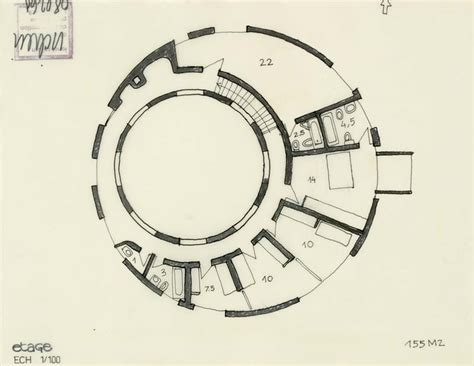 Circular Floor Plans by Floor Plans 171 Round Houses