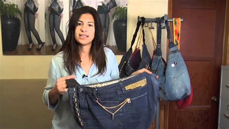 pattern making denim jeans denim handbag ideas youtube