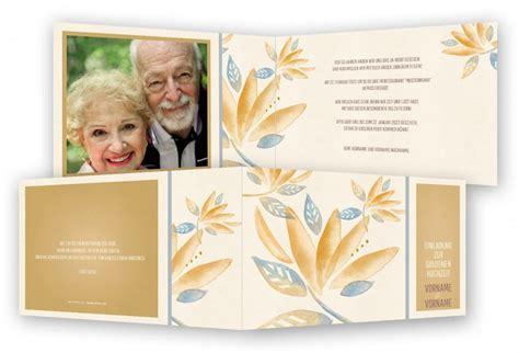 einladung goldene hochzeit vorlage goldene hochzeit einladungen vorlage feinekarten