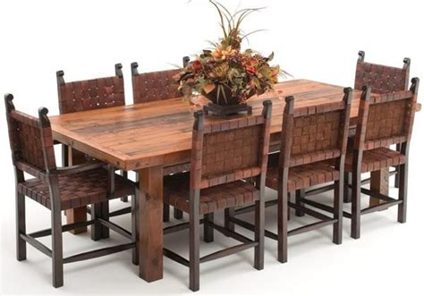 rustic tuscan dining room furniture 1000 images about barnwood furniture on