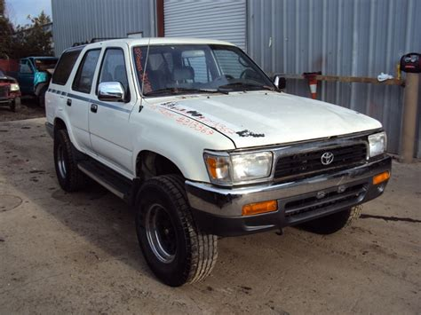 1992 Toyota Sr5 1992 Toyota 4runner Sr5 Model 4 Door 3 0l V6 At 4wd Color