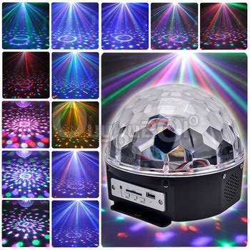 Lu Disco Led Magic Light Murah lu disco musik speaker usb led magic light