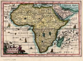 Old Map Of Africa by Old Maps Of Africa