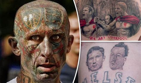 worst tattoo infection i ve ever seen revealed the worst tattoos ever seen in football some