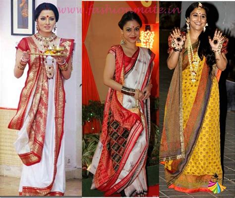bengali saree draping an elegant affair different draping styles types of a saree fashion mate fashion mate