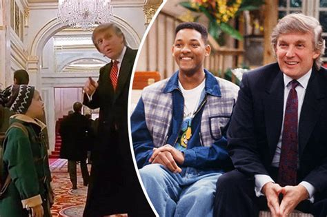 donald in home alone 2 remember when president