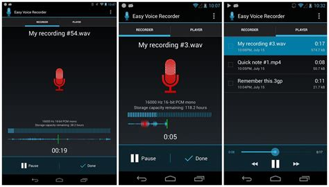 recording app android top 7 voice recorder apps for android leawo tutorial center