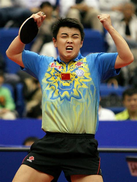 wang hao in world table tennis chionships 2009 day 8