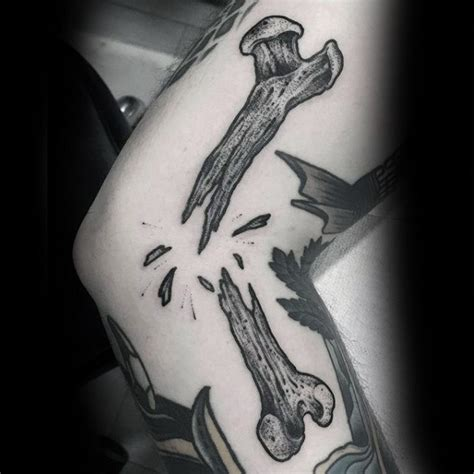 dog bone tattoo designs collection of 25 broken bone and tattoos flash