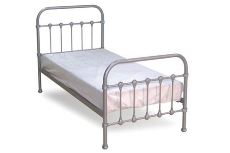 Single Bed Metal Frame Single Metal Bed Crowdbuild For