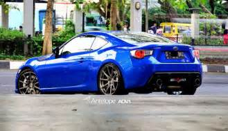 Subaru Brz Wheel Subaru Brz Gets Courtesy Of Adv1 Wheels