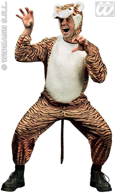 tiger costume tiger animal costume medium fancy dress costume animals