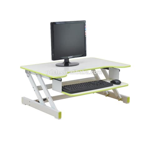 Stand Up Computer Desk with Wooden Stand Up Desk Computer Standing Desk Portable Laptop Computer Table