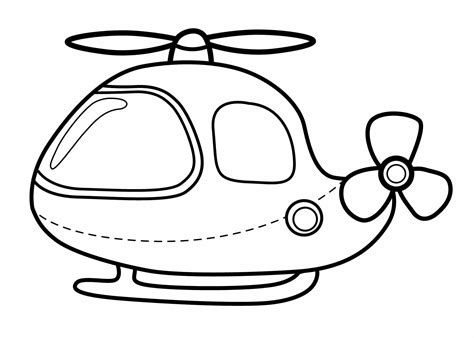 Free Printable Helicopter Coloring Pages For Kids Printable For Toddlers