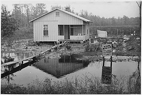 The Great Depression Housing Foreclosures | picture of a group of a farm foreclosure sale during the