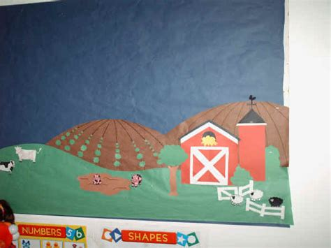 farm themed bulletin board suggestion