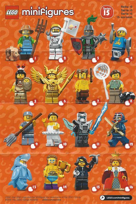 Lego The Original Minifigures Series review lego minifigures series 15