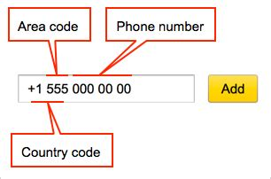 us country area code number linking phone numbers