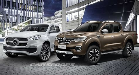renault alaskan vs nissan navara visual who wore it better the x class or the
