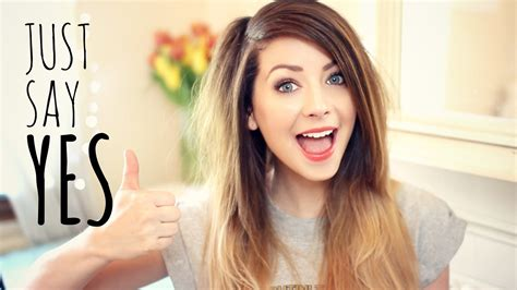 zoella hairstyles youtube just say yes zoella youtube