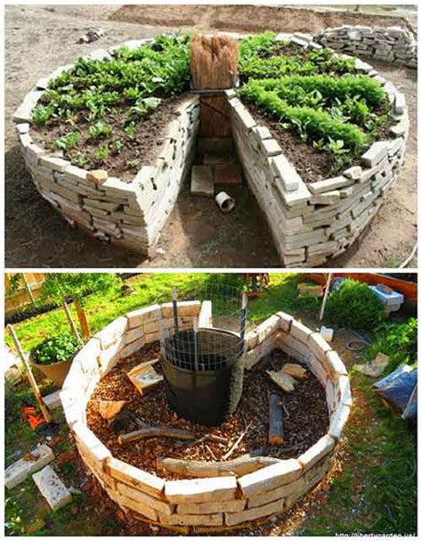 Keyhole Gardening by How To And Why You Need To Build A Keyhole Garden