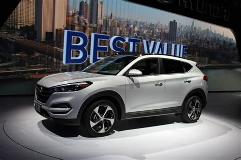 2016 hyundai tucson debuts at the new york auto show