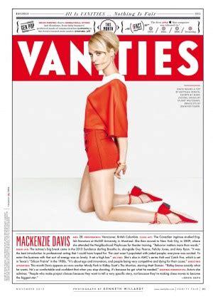Vanity Fair Magazine Dimensions Mackenzie Davis Vanity Fair 2015 02 Gotceleb