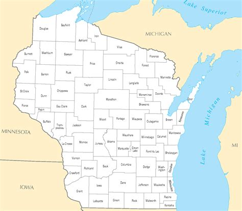 map of wisconsin cities 31 fantastic county map wisconsin with cities swimnova