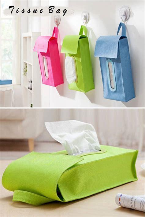 Tissue Bag Tas Kotak Tempat Tisu Bisa Digantung Diletakkan Di Meja tas tisu gantung tempat tisu unik praktis diletakkan di