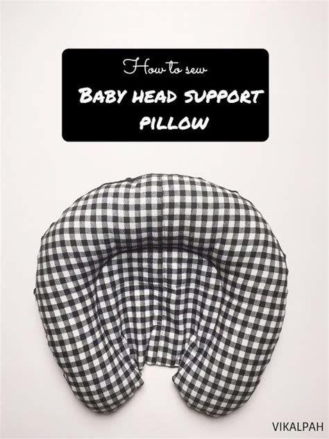 car seat pillow pattern tutorial and pattern baby car seat support pillow