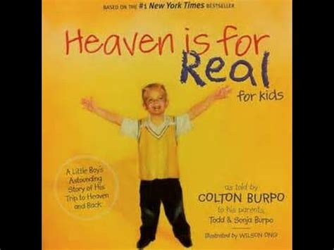 heaven is for real picture book reviews the children s book heaven is for real