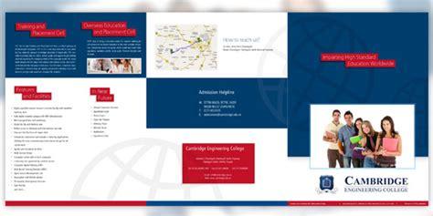 college prospectus design template gallery templates