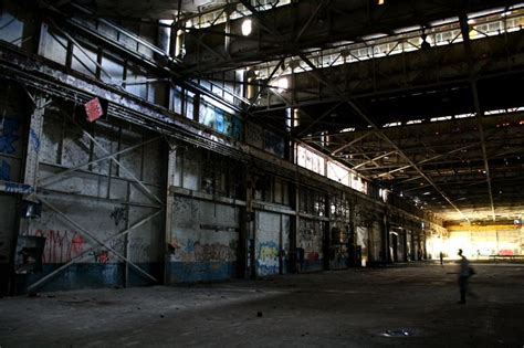South Mysery Company derelict factory inside search ether one