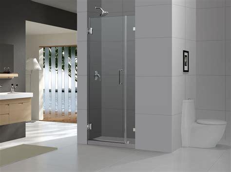 frameless photo dreamline 72 quot x 33 quot radiance frameless shower door sleek