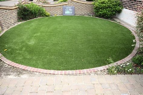 Circle Garden by Garden Circle Feature Artificial Grass Lawns And Turf By
