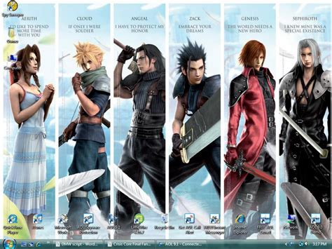 film final fantasy vii crisis core final fantasy 7 crisis core final fantasy vii wallpaper