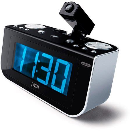 jl360 projection clock radio walmart