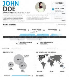 Infographic Resume Template Free by 35 Infographic Resume Templates Free Sle Exle