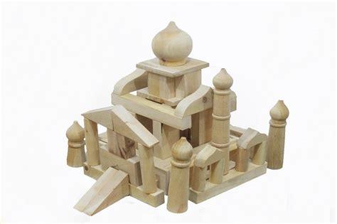 Kado Mainan Edukasi Alat Bantu Belajar Bentuk Bangun Kotak Pas jual mainan edukatif mainan balok kayu masjid wooden mosque rainbow kana