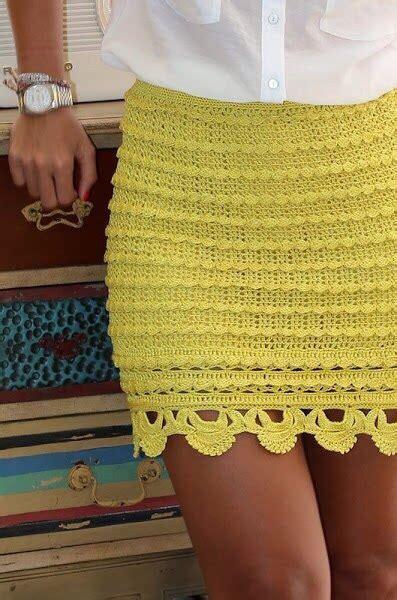 falda de crochet para damas tutorial n 186 06 faldas tejidas a crochet para damas imagenes de