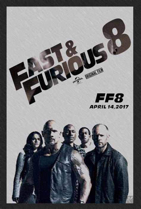 fast and furious 8 poster poster fast and furious 8 keenbeetal by keenbeetalart