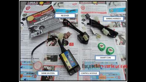 Alarm Motor Honda cara pasang alarm motor brt smart key di honda vario techno 125 pgm fi